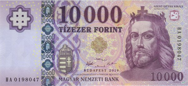 Neuheiten 1: Ungarn Pick New 2019 - 10000 Forint (1)